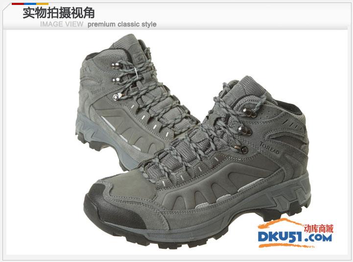秋冬新品Toread探路者男士登山鞋徒步鞋防滑耐磨保暖TFBA91005 1