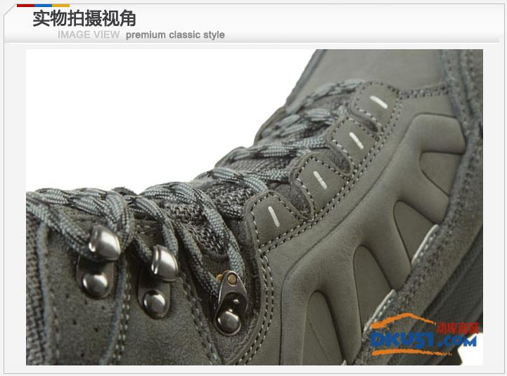 秋冬新品Toread探路者男士登山鞋徒步鞋防滑耐磨保暖TFBA91005 8