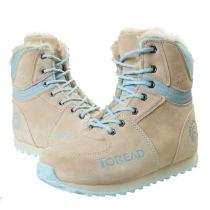 秋冬新品探路者Toread女士保暖冬靴雪地靴防滑TFDA92001