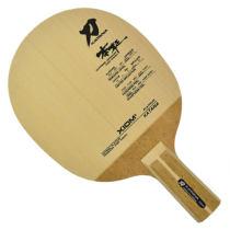 XIOM驕猛 刀鋒戰士10MM單檜 原柳白金 中式乒乓球拍