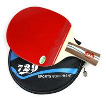 友谊729 2020乒乓球拍 双面反胶成品拍 送半拍套+2球