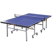紅雙喜乒乓球臺 T2023家用折疊移動乒乓球桌 送網架/球/拍
