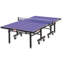 DHS紅雙喜T1223乒乓球臺 高級單折移動式乒乓球桌 贈網架