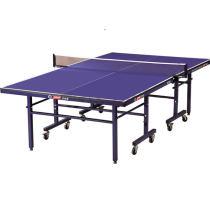 紅雙喜乒乓球臺 T2123移動式乒乓球臺 折疊帶輪 乒乓球桌
