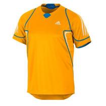 adidas 阿迪达斯 乒乓球服 运动服 Mittennium Tee 黄色款