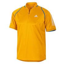 adidas 阿迪達斯 乒乓球服 運動服 T恤 V13520黃色男短袖