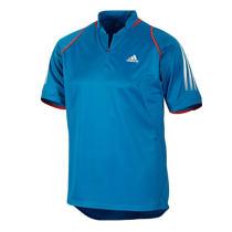 adidas 阿迪達斯 乒乓球服 運動服 T恤 V13522藍色男短袖