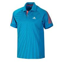 adidas 阿迪達斯 乒乓球服 運動服 T恤 V13777藍色男短袖