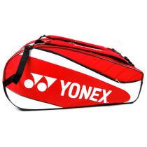 YONEX 尤尼克斯 BAG7229EX 紅色款羽毛球包 雙肩包9支裝