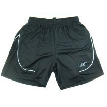 凱勝/KASON FAPD015-1-1 黑色羽毛球短褲