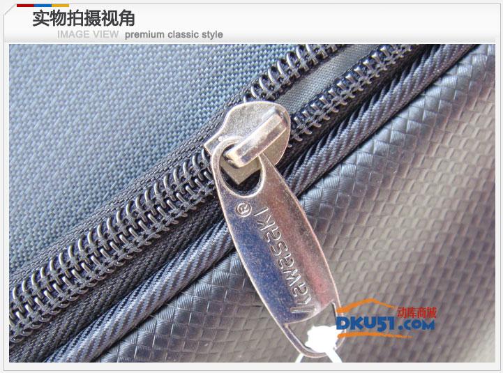 川崎/KAWASAKI TCC-053六支裝羽毛球包 超值羽毛球拍包 藍色