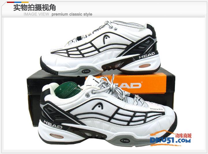 Head海德 Insane Pro Men(272011)男款網球鞋 黑白色