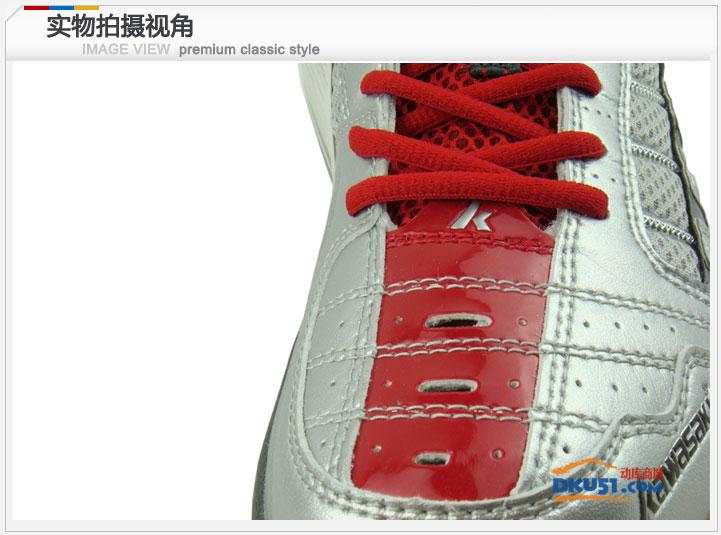 KAWASAKI 川崎K-303羽毛球鞋 红色经典 炫风系列运动鞋