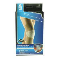 美國AQ護具 AQ1157護膝 經典針織專業護套 保暖 防拉傷 運動護具