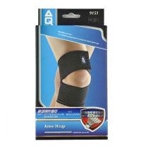 美国AQ护具 AQ9151护膝 膝部弹性绷带 防拉伤 羽毛球网球篮球足球