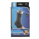 美国AQ护具 AQ1761护踝 纳米竹炭纤维踝部护套 羽毛球网球乒乓球