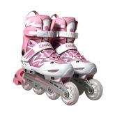 美洲狮MS835L-12粉白直排轮滑鞋男女 溜冰鞋旱冰鞋滑冰鞋