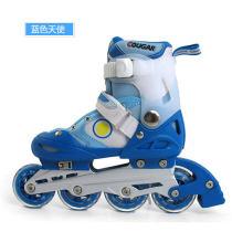 美洲獅 MS-707L 兒童 鋁合金支架 溜冰鞋 輪滑鞋 藍色