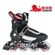 美洲獅 溜冰鞋 輪滑鞋 旱冰鞋 成年人 刷街 直排輪 MS101