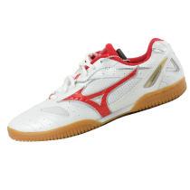 新款MIZUNO 美津濃 P18KM-17062專業乒乓球鞋 紅色款