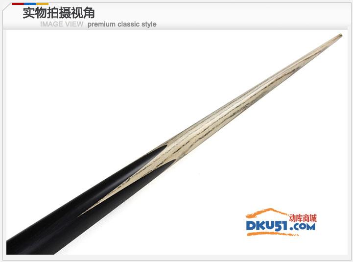 LP恒轩 公爵01通杆斯诺克专用单节小头杆 中式黑八独挺高档手工杆