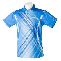 JOOLA尤拉 626雷霆 专业乒乓球服 乒乓球T恤 蓝色款