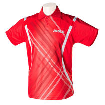 JOOLA尤拉 626雷霆 专业乒乓球服 乒乓球T恤 红色款