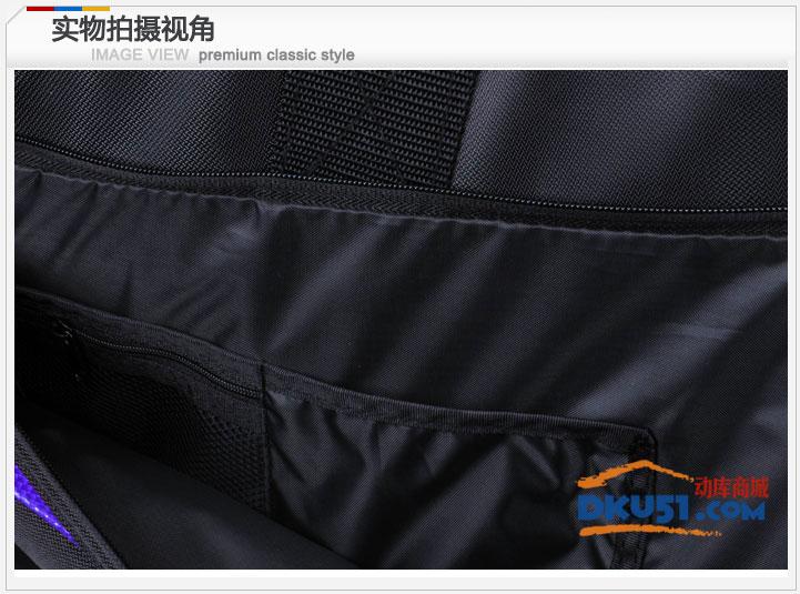 VICTOR/胜利 BR690ACE羽毛球包 商务型 矩形拍包 黑紫色