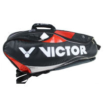 VICTOR勝利 BR290ACE 韓國國家隊專用羽毛球包 黑紅款