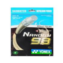YONEX尤尼克斯 NBG98羽毛球線 超彈性耐打