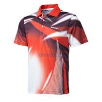 2013新品 川崎Kawasski ST-13139 短袖上衣羽毛球服 比赛T恤