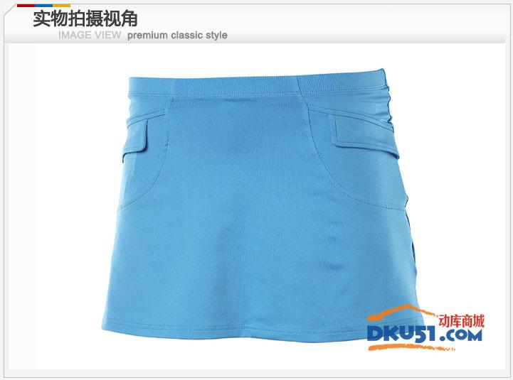 川崎Kawasski SK-12262 羽毛球短裙 裙裤 天蓝色