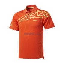 kawasaki川崎男款羽毛球服运动T恤 ST-13147 橘色