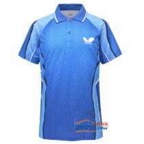 蝴蝶 2013新款 TBC-BHW-258-031乒乓球T恤 彩蓝款