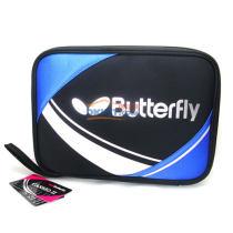蝴蝶 TBC-955 蓝色款乒乓球单层方形拍套 2014年新款!