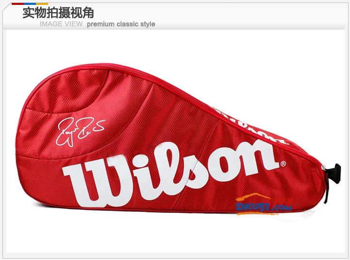 新品 Wilson/威爾勝 3只裝三只裝網球拍包 WRZ833403