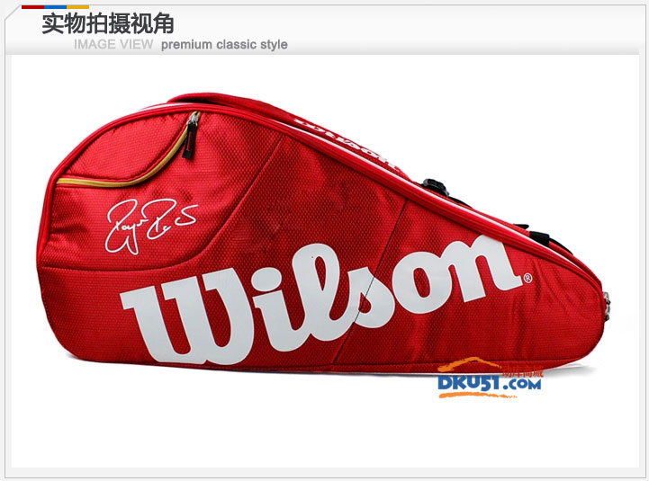 Wilson/威爾勝 費德勒FEDERER球場系列網球包(6只裝)WRZ833406