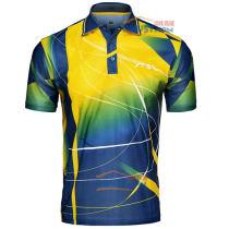 STIGA斯帝卡乒乓球T恤/短袖 G1403147 黃藍款