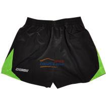 DONIC多尼克乒乓球短褲 92086 黑配綠邊短褲