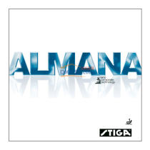 STIGA斯帝卡纳米 ALMANA乒乓球套胶 迄今为止最快套胶
