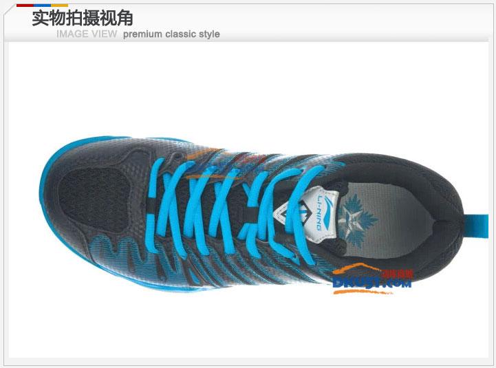 李宁男款羽毛球鞋AYTJ019-9 Hero二代TD黑蓝款