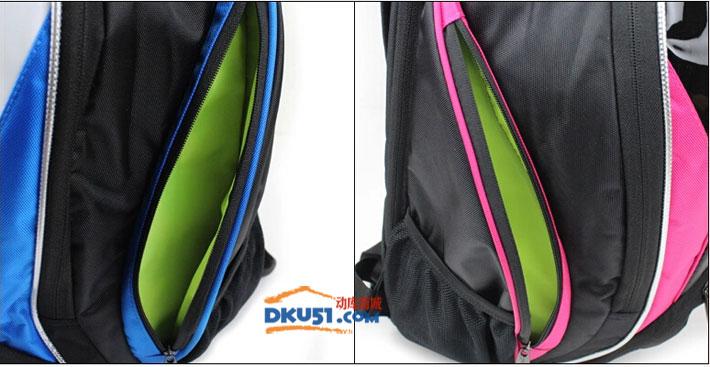 川崎KAWASAKI KBP-8219 双肩羽毛球拍包(网羽两用 经典有型)