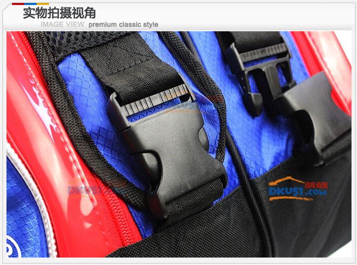 KAWASAKI川崎羽毛球包 KBB-8631 六支装双肩(超大空间 功能强悍)