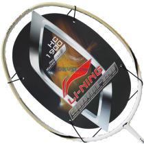 李寧HC1900 AYPG346-1 全碳羽毛球拍(土豪金+牛奶白)