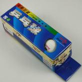 双鱼精品三星比赛用乒乓球球(重量、大小、弹性更标准)