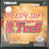 TIBHAR挺拔快速内能Speedy Soft D.Tecs正胶套胶(下沉感十足)