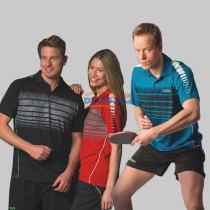 多尼克DONIC83621男女款款乒乓球训练服(上衣)