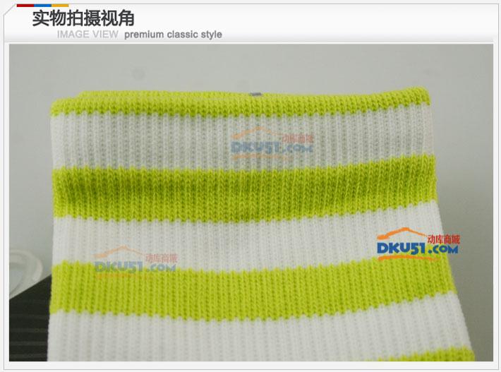 李宁LINING AWLJ004-3 绿色 羽毛球运动女袜