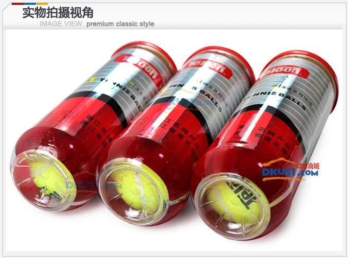 TELOON天龙 T801-P3 桶装标准训练网球3只装