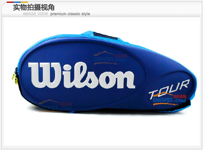 Wilson/威爾勝 TOUR 9支裝單肩網球包 WRZ8404 帶隔熱層